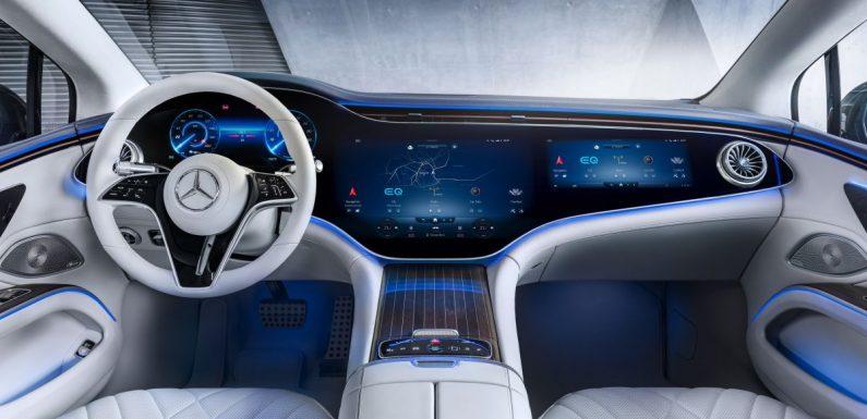 Mercedes-Benz EQS interior detailed ahead of Europe launch this August – MBUX Hyperscreen spans 141 cm – paultan.org