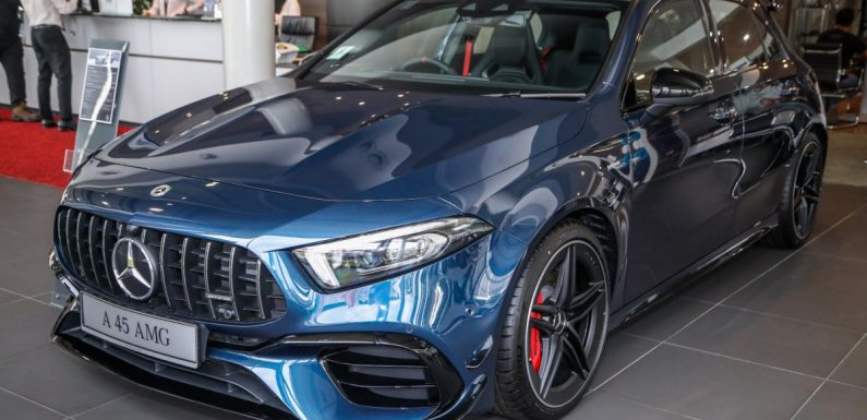 2021 Mercedes-AMG A45S now in Malaysia – Edition 1 and panoramic roof dropped, but cheaper at RM438k – paultan.org