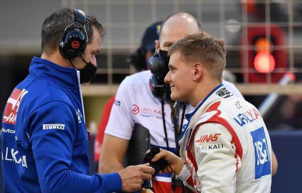 Mick Schumacher 'irritated' by last-lap fireworks