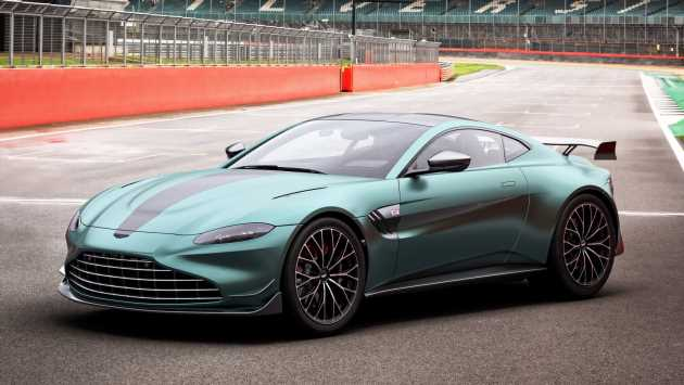 New Aston Martin Vantage F1 Edition brings racetrack performance to the road