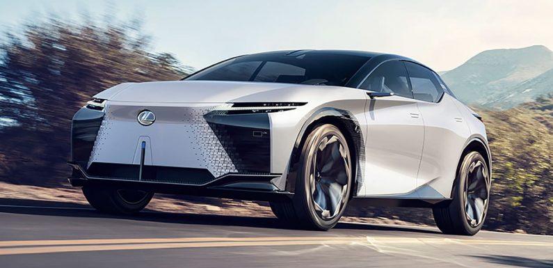 New Lexus LF-Z Electrified concept previews brand's EV future