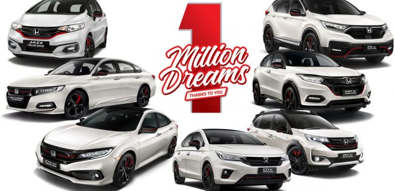 Win the Honda City, Jazz, Civic, Accord, BR-V, HR-V and CR-V 1 Million Special Edition models, for free! – paultan.org