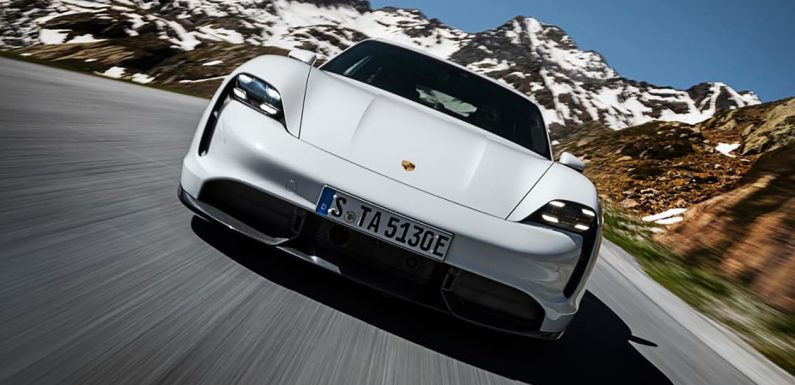 Free Porsche Taycan software upgrade boosts performance and functionality