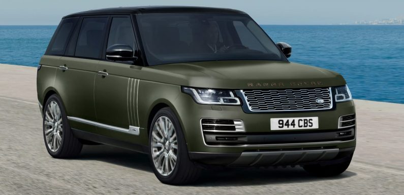 New flagship Range Rover SVAutobiography Ultimate editions unveiled