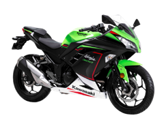 Kawasaki Ninja 300 BS6 launched at Rs. 3.18 lakh