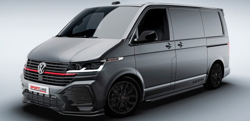 Volkswagen Transporter T6.1 Sportline unveiled for 2021