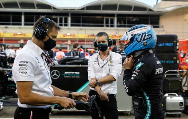 'Bit slow Bottas used as a pawn by Mercedes'