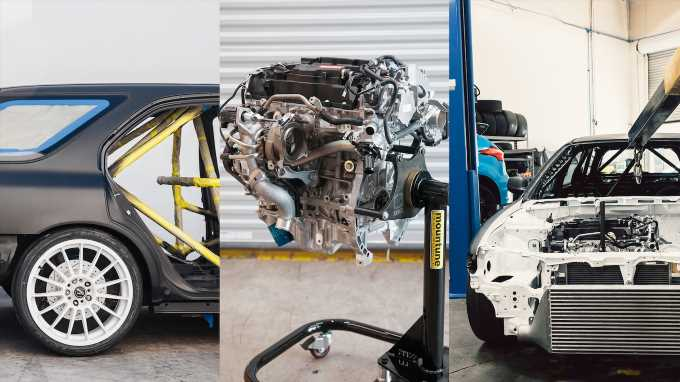 Fifteen52 Swapping Honda Civic Type R Engine into a 1996 Accord Wagon
