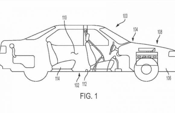 General Motors Patents the In-Car Foot Massager We've Always Deserved
