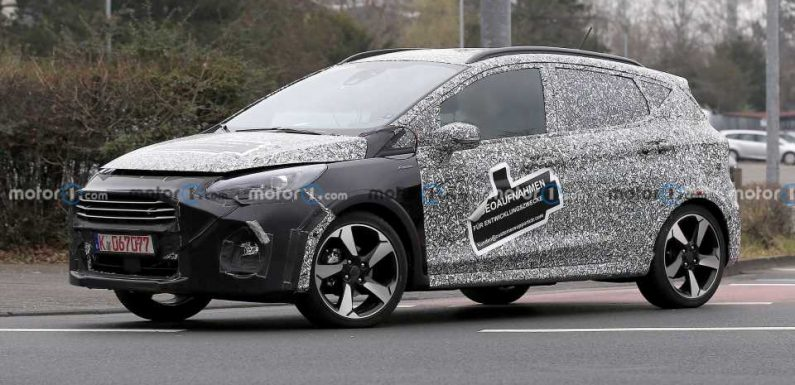 Ford Fiesta Facelift Spied Testing In Active Trim
