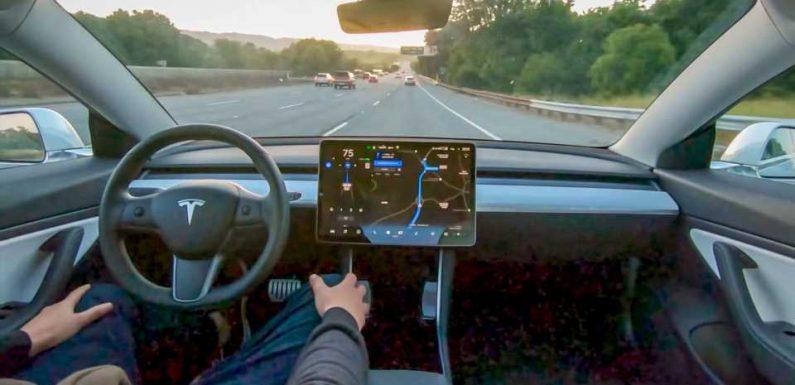 Elon Musk Signals Big Update for \u2018Full Self-Driving\u2019