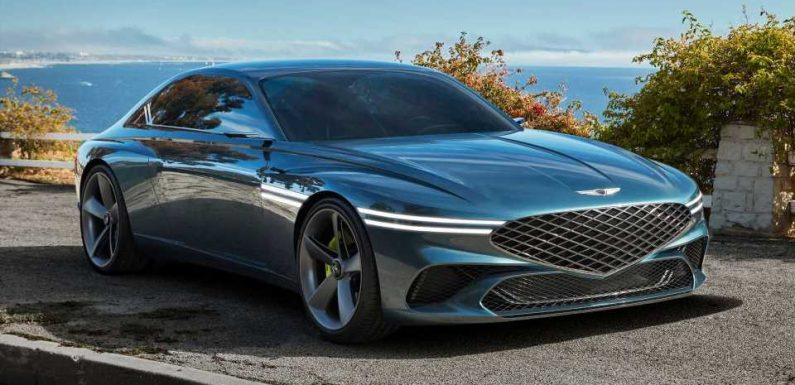Genesis X Concept Is A Stunning Electric Coupe Inspired By California