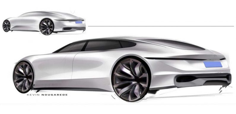 GM Sketches A Swoopy Sedan We'd Love To See In Real Life
