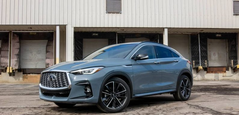 2022 Infiniti QX55 Review: Satisfyingly Premium, But Not as Sporty as It Looks