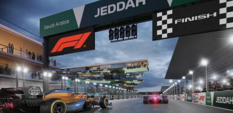 Formula One Reveals Saudi Arabia's New Jeddah Street Circuit