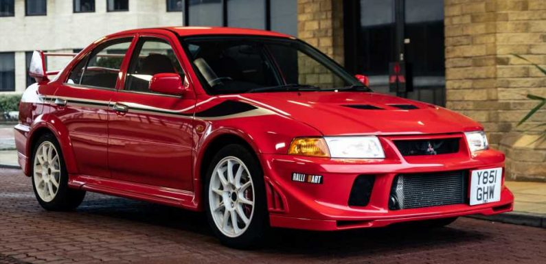 Mitsubishi Is Selling a Bunch of Heritage Collection Cars In a Once-in-a-Lifetime Auction