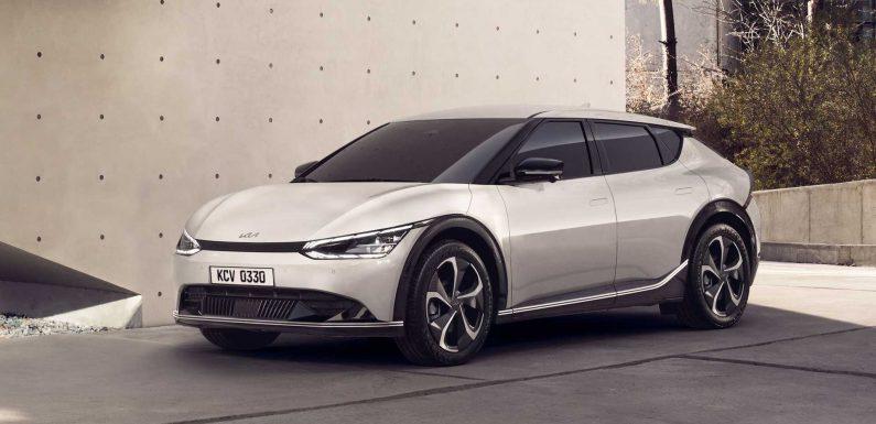 Kia Reveals EV6, Its First Dedicated Electric Car