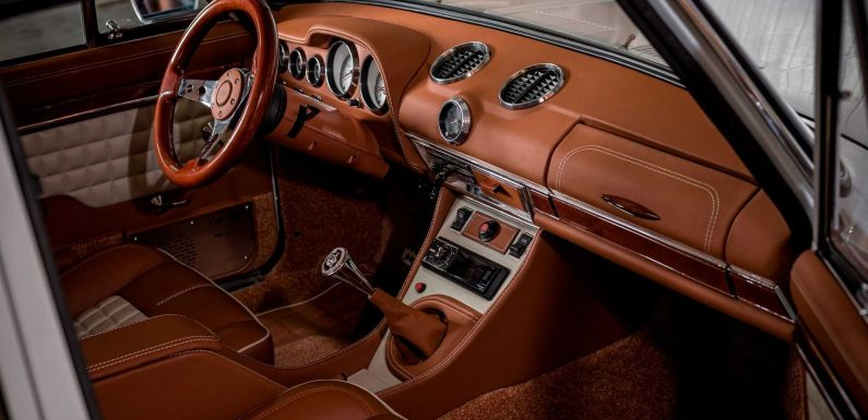Interior Restomod Doesn't Get Better Than This Awesome Lada