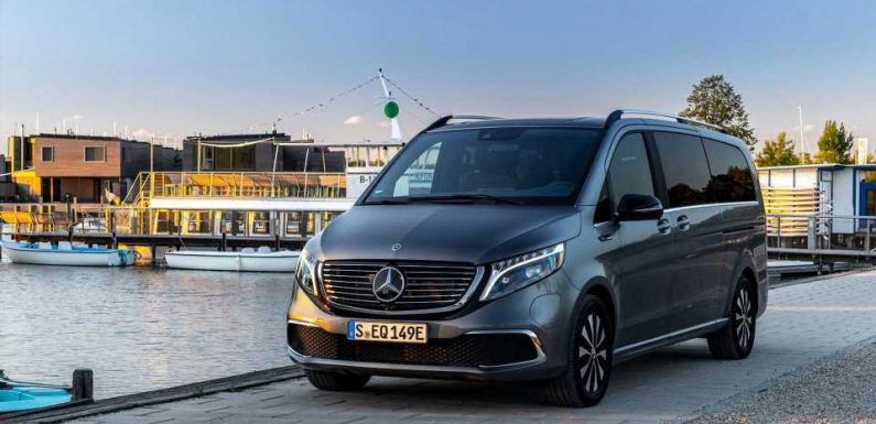 Mercedes-Benz EQV DC Fast Charging Analysis