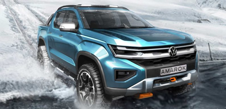 2022 Volkswagen Amarok Teaser Brings The Truck Closer To Reality