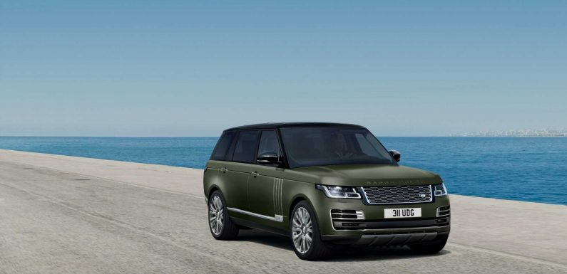Land Rover Introduces What It Calls the \u2018Ultimate\u2019 Range Rovers