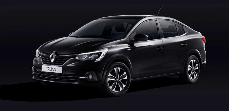 Renault Taliant Revealed As Rebadged Dacia Logan With Different Lights