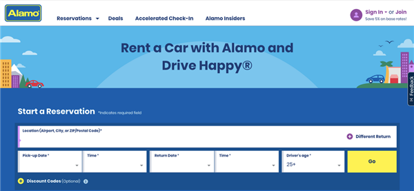 Alamo Launches Redesigned Website