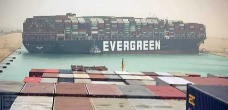 Giant Cargo Ship Stuck In Suez Canal May Lead To Higher Gas Prices