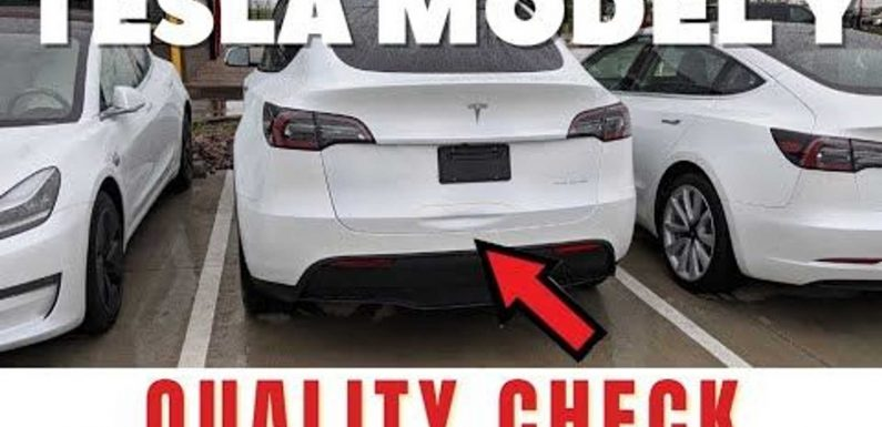 The Electric Man Still Doesn't Like Tesla Model Y Build Quality For March
