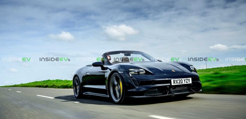 Check Out This Convertible Porsche Taycan Render
