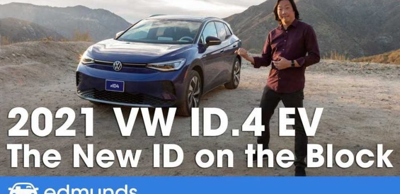 This Review States The VW ID.4 Is Much Better Than The Tesla Model Y