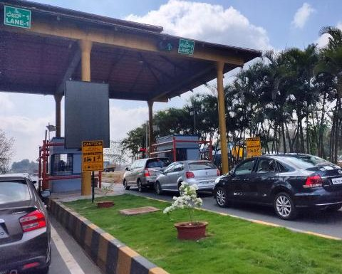 Dilemma! My hometown is between 2 toll booths