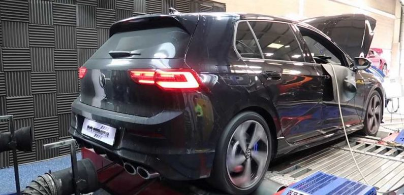 2021 VW Golf R Dyno Run Suggests The Hot Hatch Is Underrated