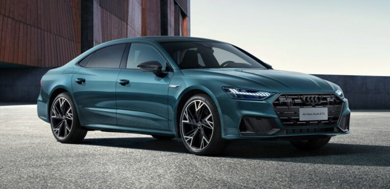 2021 Audi A7L Sedan debuts – first ever LWB A7 is a sedan, 3.0 mild-hybrid V6 TFSI; made for China only – paultan.org