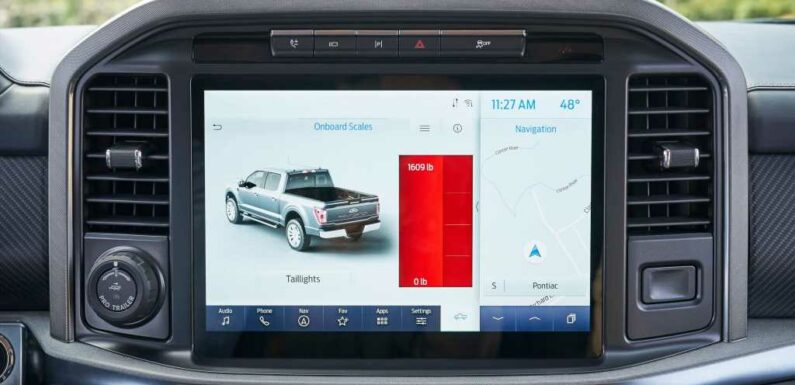 2021 Ford F-150 Makes Trucking Safer With Onboard Scales