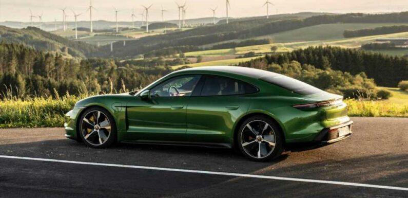 2021 Porsche Taycan Turbo Versions Get Higher EPA Range Ratings