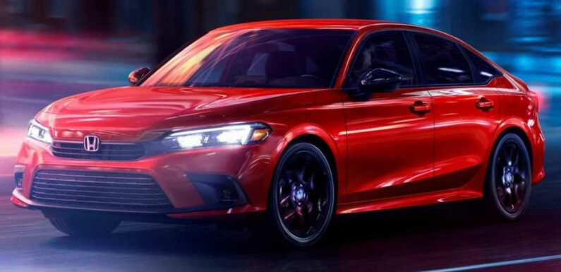 2022 Honda Civic Debuts New Outside Look With Gobs Of Tech Underneath
