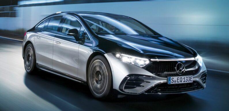 2022 Mercedes-Benz EQS flagship EV sedan debuts – two variants, up to 523 PS and 855 Nm, 770 km range – paultan.org