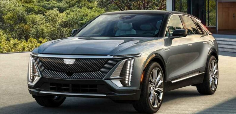 2023 Cadillac Lyriq Revealed With Pricing Too
