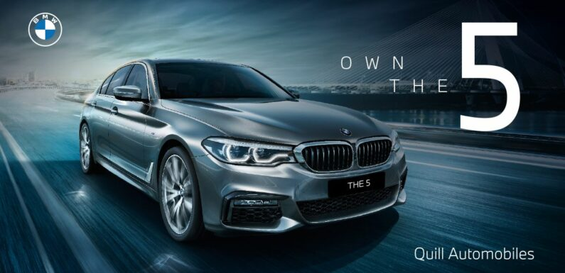 AD: Own The 5 with Quill Automobiles – exciting deals on the BMW 5 Series pre-LCI; limited units available – paultan.org