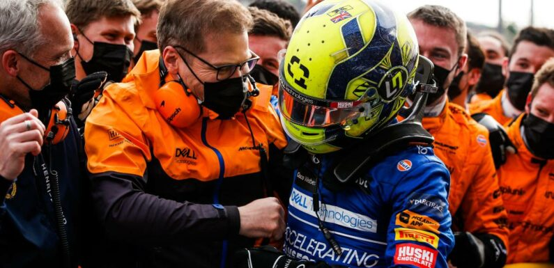 Andreas Seidl praises Lando Norris, 'flying at the moment'