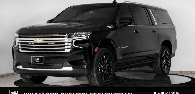Armored 2021 Chevy Suburban Is A Stealthy Personal Bunker