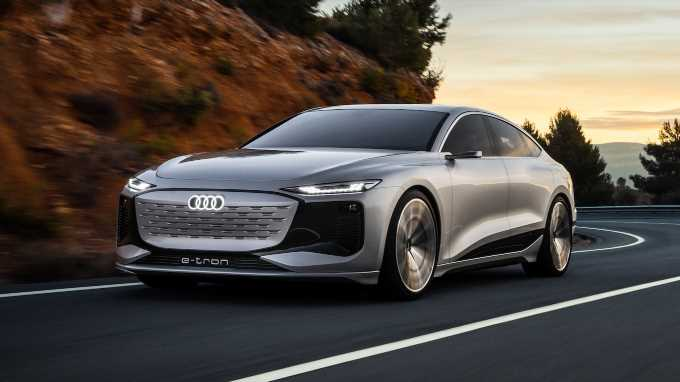 Audi A6 E-Tron Concept First Look Review: Luxury Sedan Goes EV