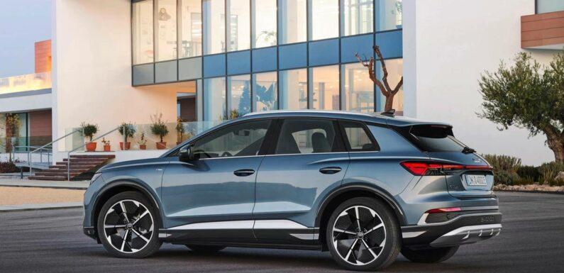 Audi Debuts Entry-Level EV, Q4 E-Tron SUV, for Less Than $45,000