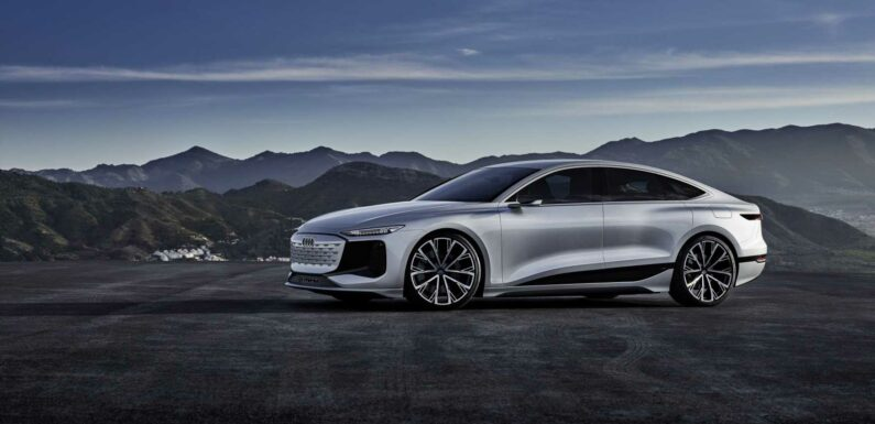 Audi Unveils the A6 e-tron Concept