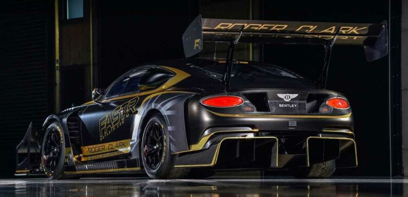 Bentley Continental GT3 Set to Race to the Heavens at Pikes Peak