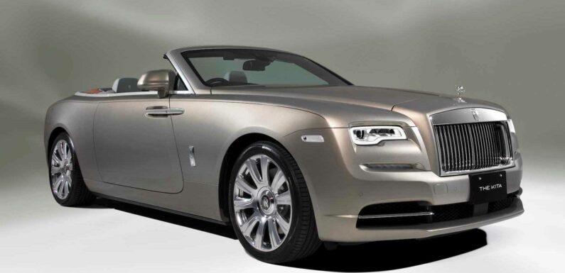 Bespoke Rolls-Royce Dawn Created To Reflect A Japanese Edifice
