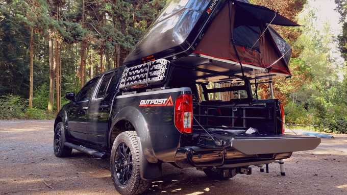 Caravan Outfitter Nissan Frontier Outpost Camper Truck: The Affordable Overlander