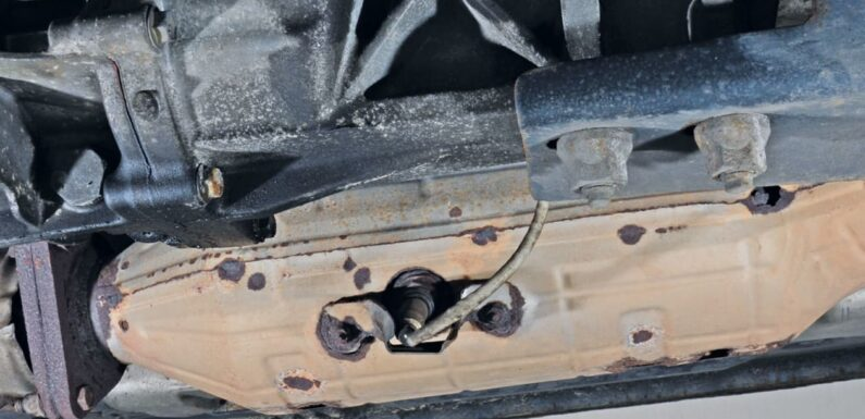 Catalytic converter theft on the rise in the UK