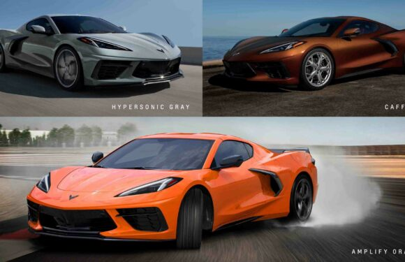 Check Out Corvette C8's Three New Official Colors For 2022